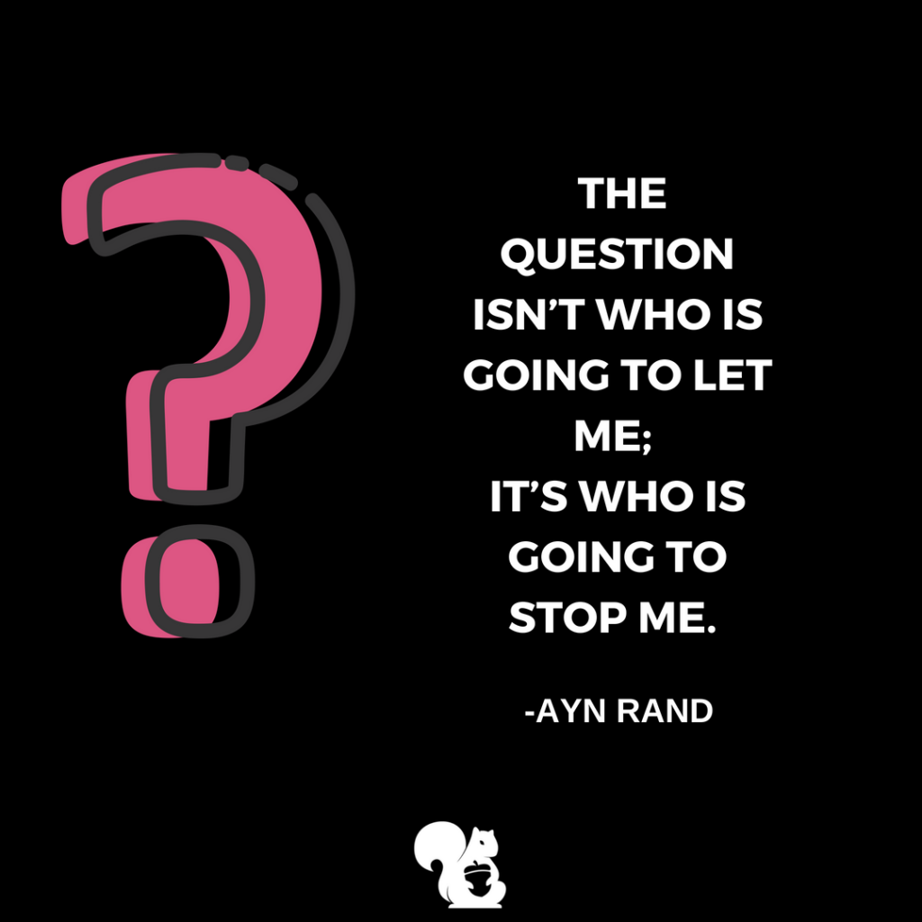 sqrrl.in The question isn't who is going to let me; It's who is going to stop me. - Ayn Rand