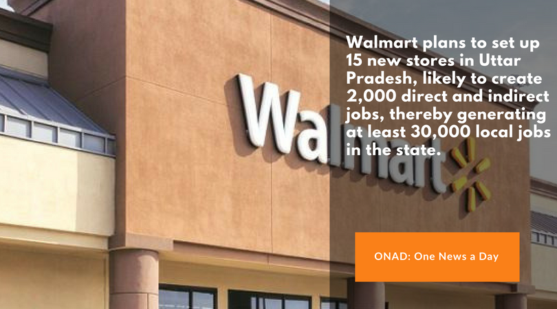ONAD-Each store is likely to create 2,000 direct and indirect jobs, thereby generating at least 30,000 local jobs in the state.