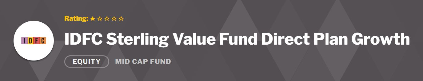 IDFC Sterling fund