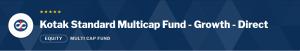 Kotak Standard Multicap Fund