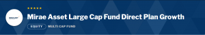 Mirae Asset Large Cap Fund