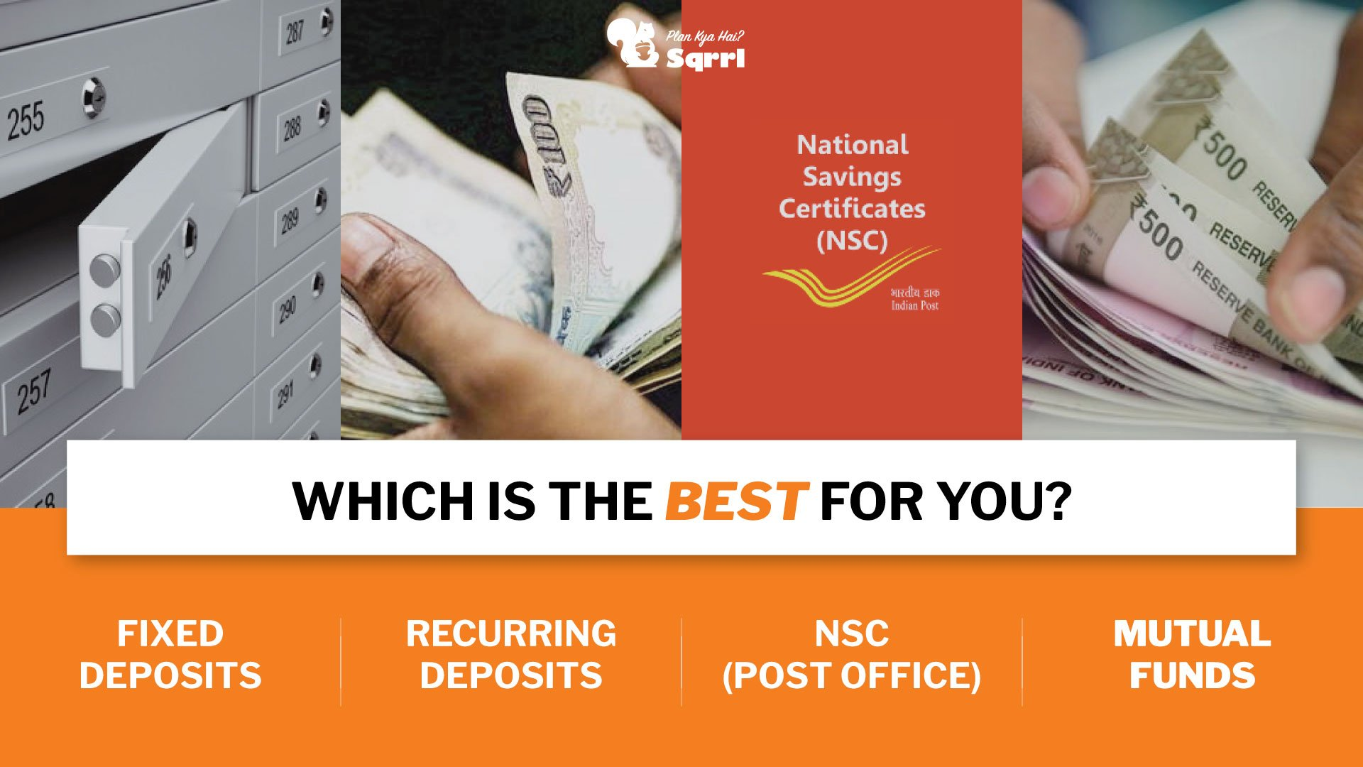 Fd Vs Mutual Funds Vs Nsc Vs Rd Which Is The Best Investment Option