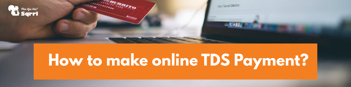 how to make online tds payment