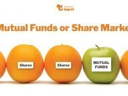 mutual funds investment vs share market