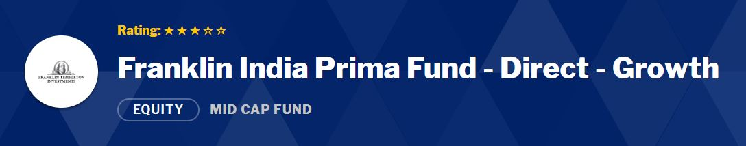 Mid Small Cap Funds: Franklin India Prima Fund - Reg - Growth