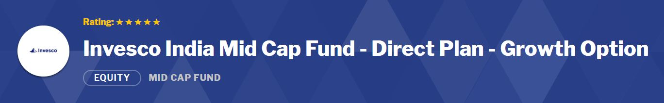 Mid-Small Cap Funds: Invesco India Mid Cap Fund- Growth