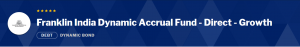 Debt Mutual Funds:Franklin India Dynamic Accrual Fund