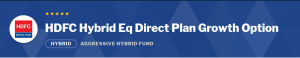 HDFC Hybrid Equity Fund