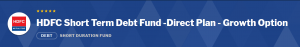 Debt Mutual Funds: HDFC Short Term Debt Fund
