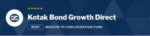 Debt Mutual Funds:Kotak Bond Fund