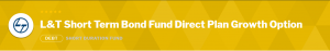 Debt Mutual Funds: L&T Short Term Bond Fund