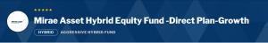 Mirae Asset Hybrid Equity Fund