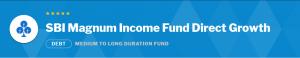 Debt Mutual Funds: SBI Magnum Income Fund