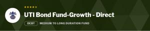 Debt Mutual Funds:UTI Bond Fund