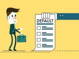 Defaulting on secured loan