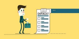 Defaulting on secured loan