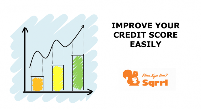 Improve credit your credit score easily- Sqrrl
