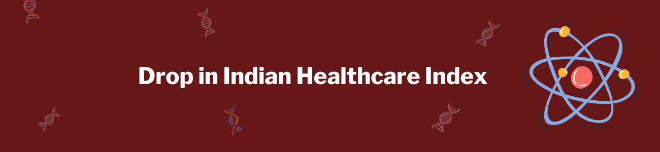 Drop in Healthcare Index - Healthcare funds