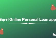 Sqrrl online personal loan app
