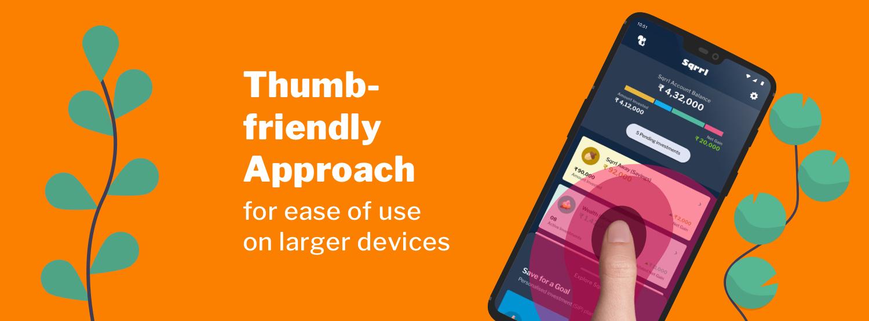 Thumb-friendly - New Sqrrl