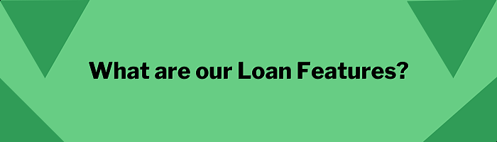 What are our loan features?