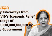 """6 Key Takeaways from COVID Economic Relief Package by the Government"""""""